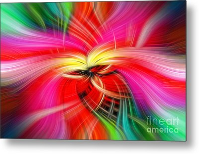 Whirlwind Of Colors Metal Print by Sue Melvin