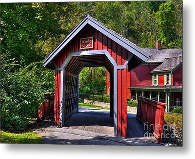 Whisky Creek Metal Print