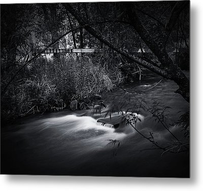 Metal Print featuring the photograph Whispering Brooke by Tim Nichols