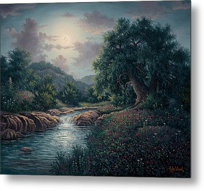 Whispering Night Metal Print