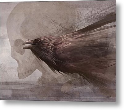 Metal Print featuring the digital art Whispers To The Souls by Steve Goad