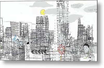 White City Metal Print by Andy  Mercer