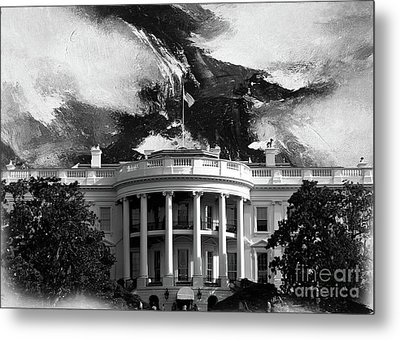 White House 002 Metal Print by Gull G