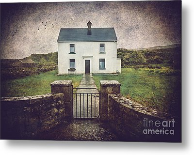 Metal Print featuring the photograph White House Of Aran Island I by Craig J Satterlee