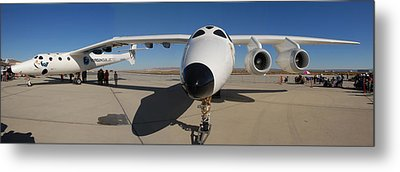 White Knight 2 Edwards Air Force Base Metal Print by Brian Lockett