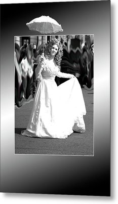White Lady Metal Print