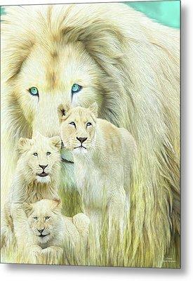 White Lion Family - Forever Metal Print