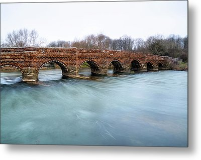 White Mill Bridge - England Metal Print