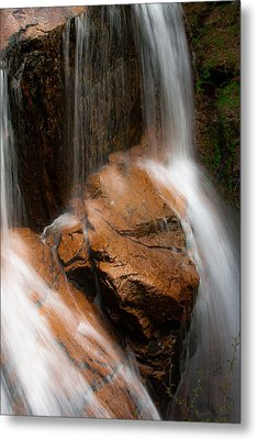 Metal Print featuring the photograph White Mountains Waterfall by Jason Moynihan