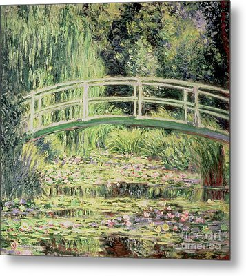 White Nenuphars Metal Print by Claude Monet