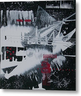 White Noise #1 Metal Print by Charlotte Nunn