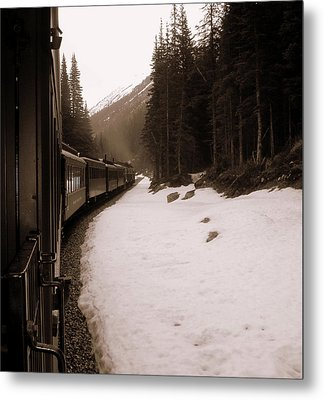 White Pass Railway Metal Print