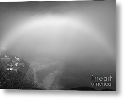 White Rainbow Metal Print by Jason Christopher