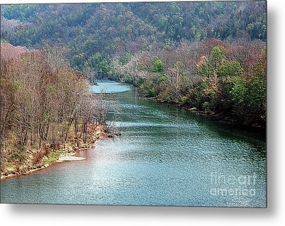 White River Metal Print by Kathleen Struckle