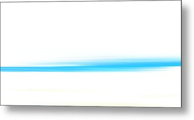 White Sand And Blue Sea Metal Print by Frank Tschakert