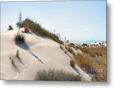 White Sands Icing Metal Print by John Kelly