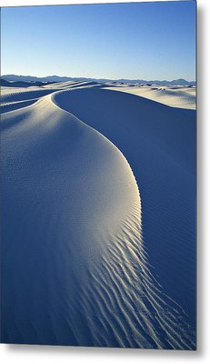 White Sands National Monument Metal Print by Dawn Kish
