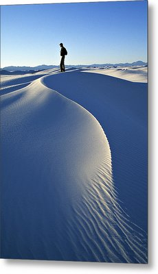 White Sands National Monument, Nm Usa Metal Print by Dawn Kish
