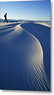 White Sands National Park, New Mexico Metal Print by Dawn Kish