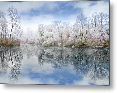 White Space Metal Print by Philippe Sainte-Laudy