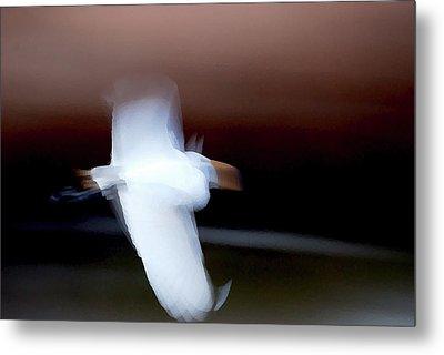 White Spirit Metal Print