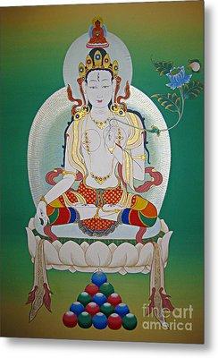 White Tara Metal Print
