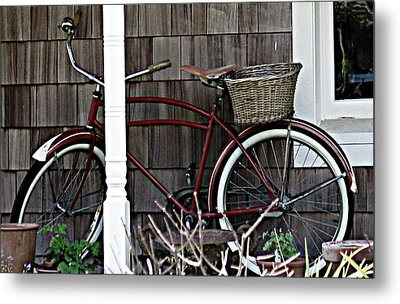 White Wall Tires Metal Print by Mg Blackstock