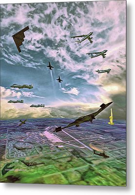Whiteman Air Force Base Metal Print by Dave Luebbert