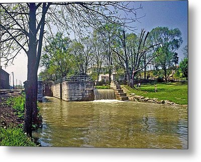 Whitewater Canal Metamora Indiana Metal Print