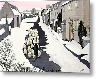 Whittington In Winter Metal Print