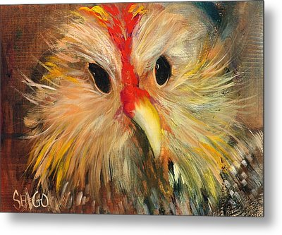 Whizzer Metal Print by Sally Seago