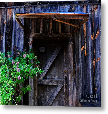 Who Is Living Here Metal Print