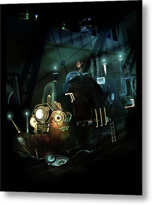 Who Knew Part Two Metal Print by Mary Hood