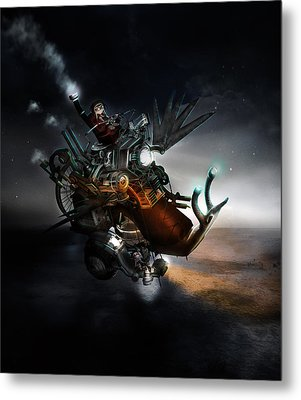 Who Knew What Snails Can Do Metal Print by Mary Hood