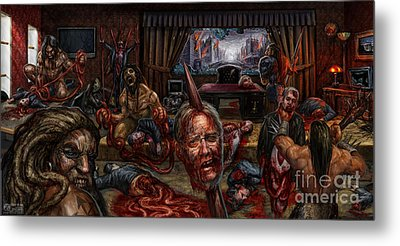 Who Rules Metal Print by Tony Koehl