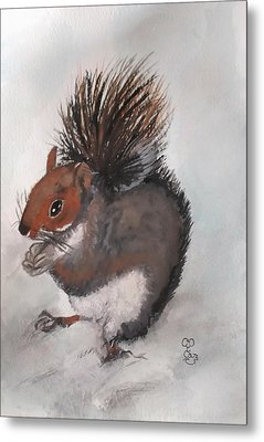 Who's Had Me Nuts Metal Print