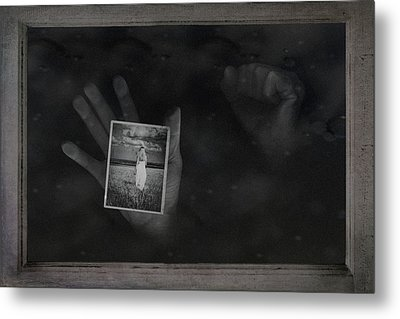 Why Did You Leave Me Metal Print by Tom Mc Nemar