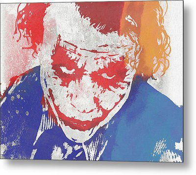 Why So Serious Metal Print