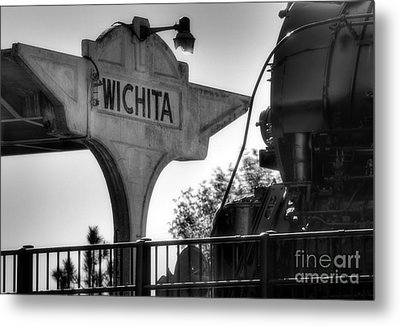 Wichita Approach Metal Print