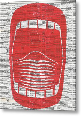 Wide Open Mouth Metal Print