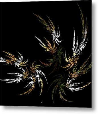 Wild And Free Metal Print by Bonnie Bruno
