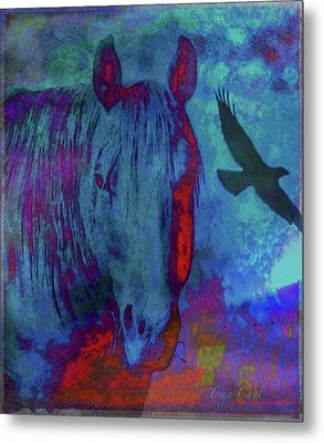 Wild And Free Metal Print