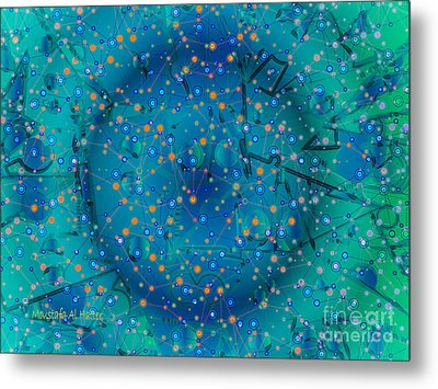 The Wild Blueberry Metal Print