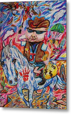 Wild Boy Jimmy Metal Print by Dianne  Connolly