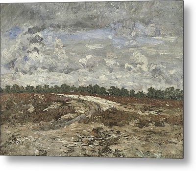Wild Country In The Forest Of Fontainebleau Metal Print