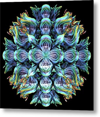 Metal Print featuring the digital art Wild Flower by Lyle Hatch