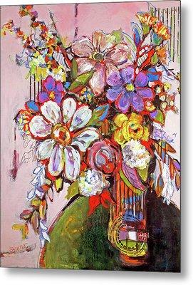 Wild Flowers Metal Print by Sharon Furner