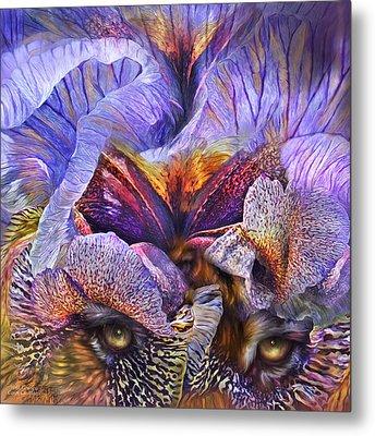 Wild Goddess - Tigress Metal Print