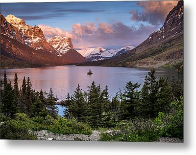 Wild Goose Island Morning 1 Metal Print by Greg Nyquist