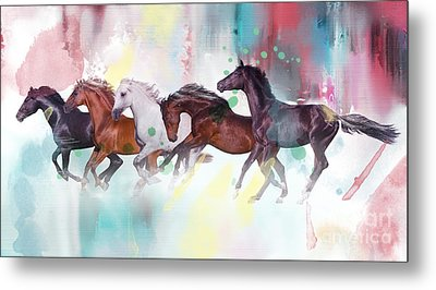 Wild Horse  Metal Print by Mark Ashkenazi
